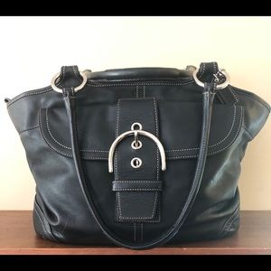 ❤️SALE Authentic Coach Leather Tote❤️